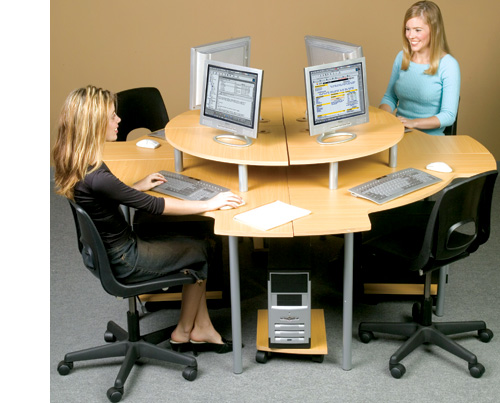 Cluster Classroom Computer Furniture
