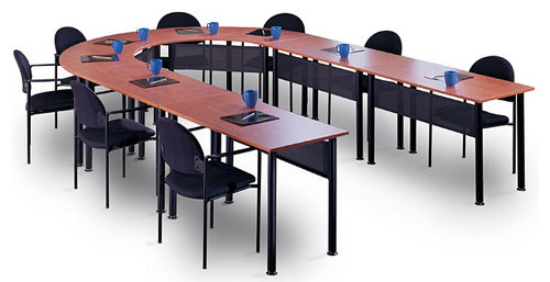 Modular UShaped Conference Table - V shaped conference table