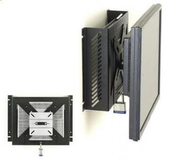 Secure Cpu Thin Client And Monitor Wall Mount Station