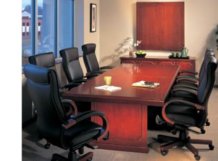 Expandable Executive Conference Table - 12 foot conference room table