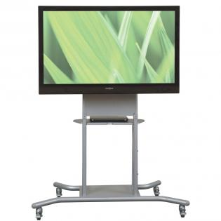 Conference Room Hospitality Cart Flat Screen Tv Stands Adjustable