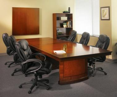 High End Conference Tables With Rich Wood Finishes - Conference table accessories