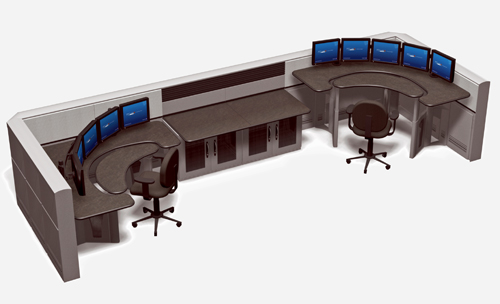 Sit stand dispatch consoles adjustable dispatch console products - Console meaning in computer ...