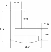 L Shaped Reception Desk Dimensions