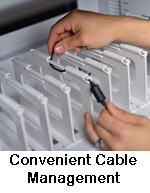 table cart cable routing