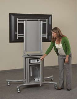 Superieur ... Adjustable Height Flat Screen TV Stand   Pic2