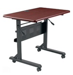 folding training tables - single