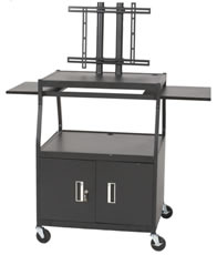 large mobile tv cart - view 3