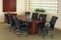 round conference table - view 2