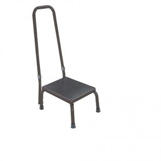 Surprising Medical Foot Stool With Hand Rail Dailytribune Chair Design For Home Dailytribuneorg